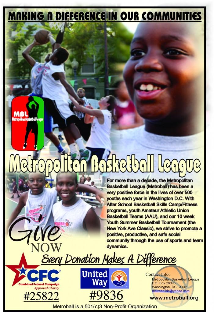 Metroball Donation Poster