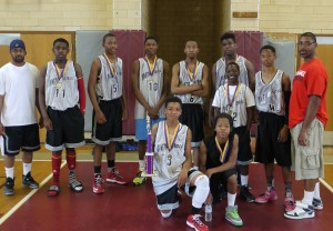 Metroball DC 9th Grade Team